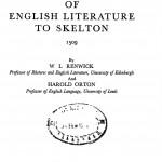 The Beginnings Of English by विलियम लिंडसे रेन्विक्क - William Lindsay Renwick